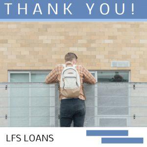 THANK YOU LFS LOANS